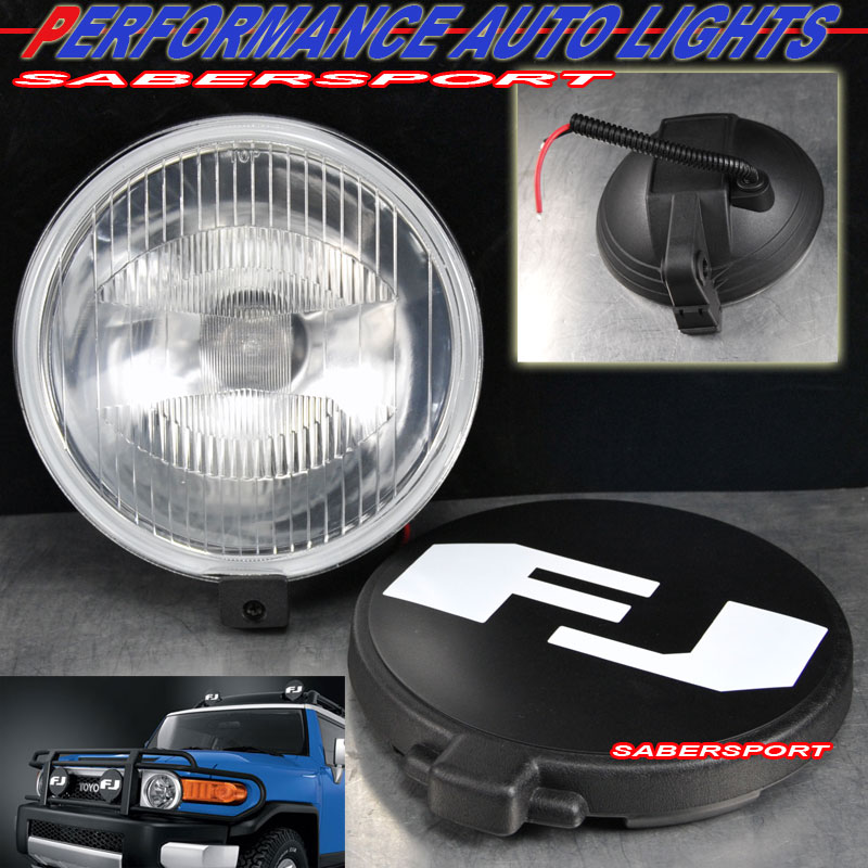 toyota fj cruiser aux fog driving light replacement ebay. Black Bedroom Furniture Sets. Home Design Ideas
