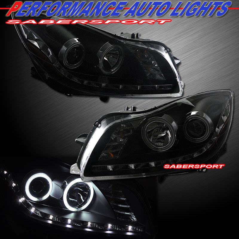 11 12 buick regal ccfl halo projector headlights w r8. Black Bedroom Furniture Sets. Home Design Ideas
