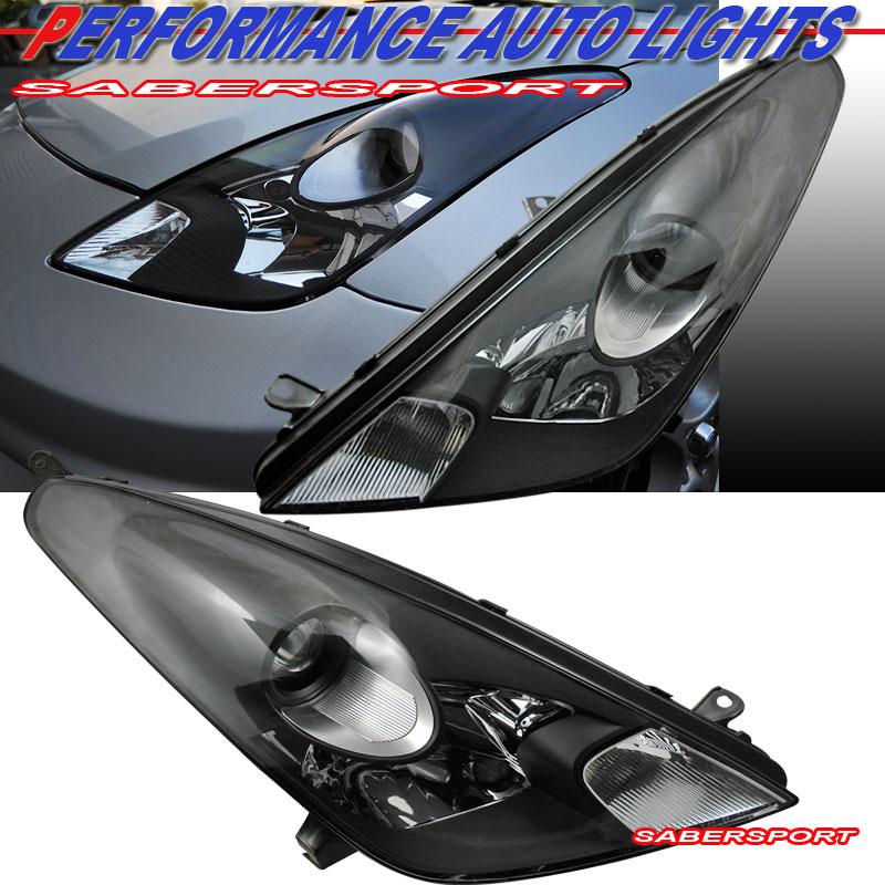 2000 2005 Toyota Celica Gt Gts Black Housing Projector