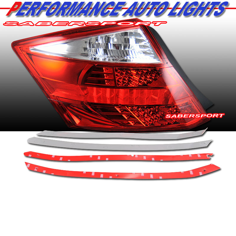 Ordering Eagle Led Coupe Tail Lights Chrome Strip Or