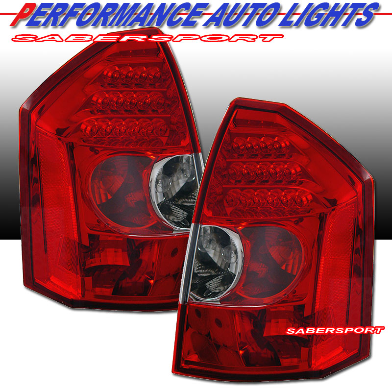 2005-2007 CHRYSLER 300C SRT-8 LED TAILLIGHTS RED. Please wait