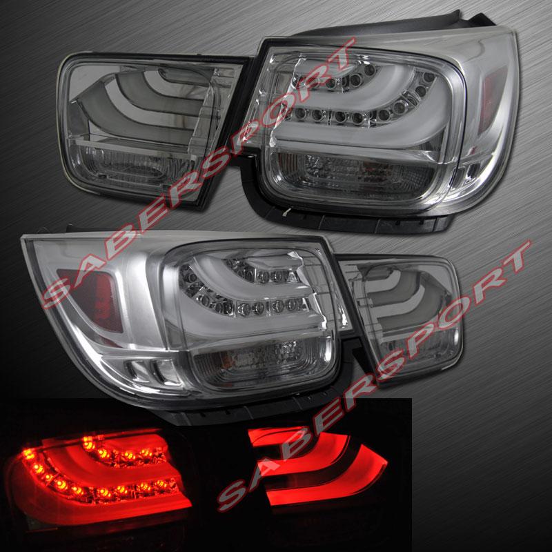 "2013-2014 CHEVY MALIBU ""L.E.D."" TAIL LIGHTS PAIR BMW STYLE"